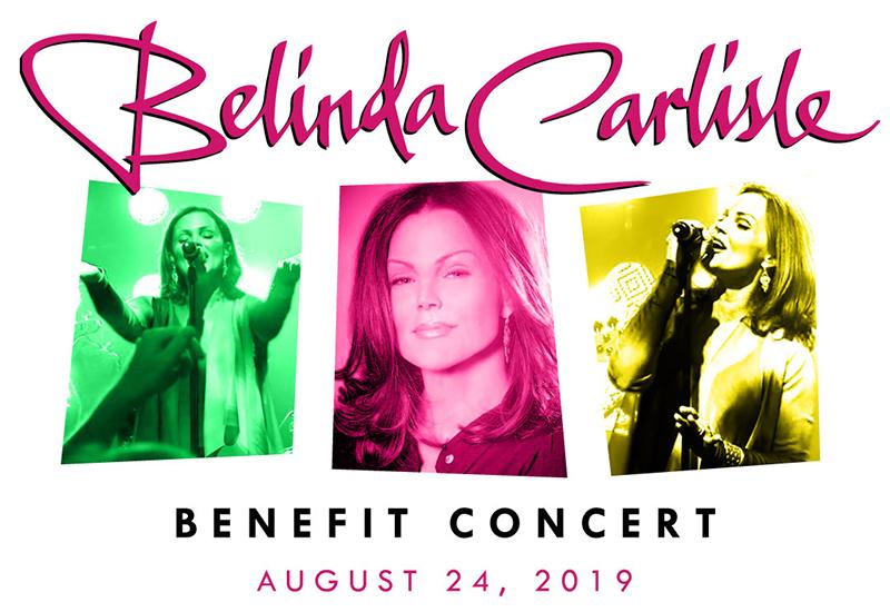 Belinda Carlisle Benefit Concert 2019